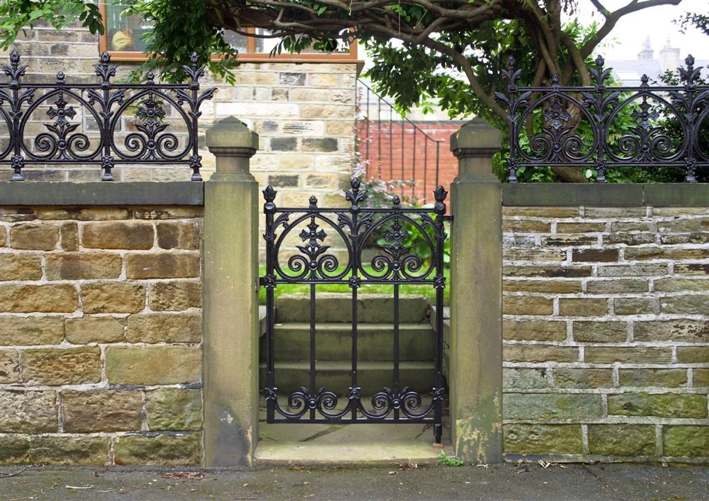 The Terrace Garden Gate Is The Perfect Compliment To Your Small Garden Or  Street Entry.