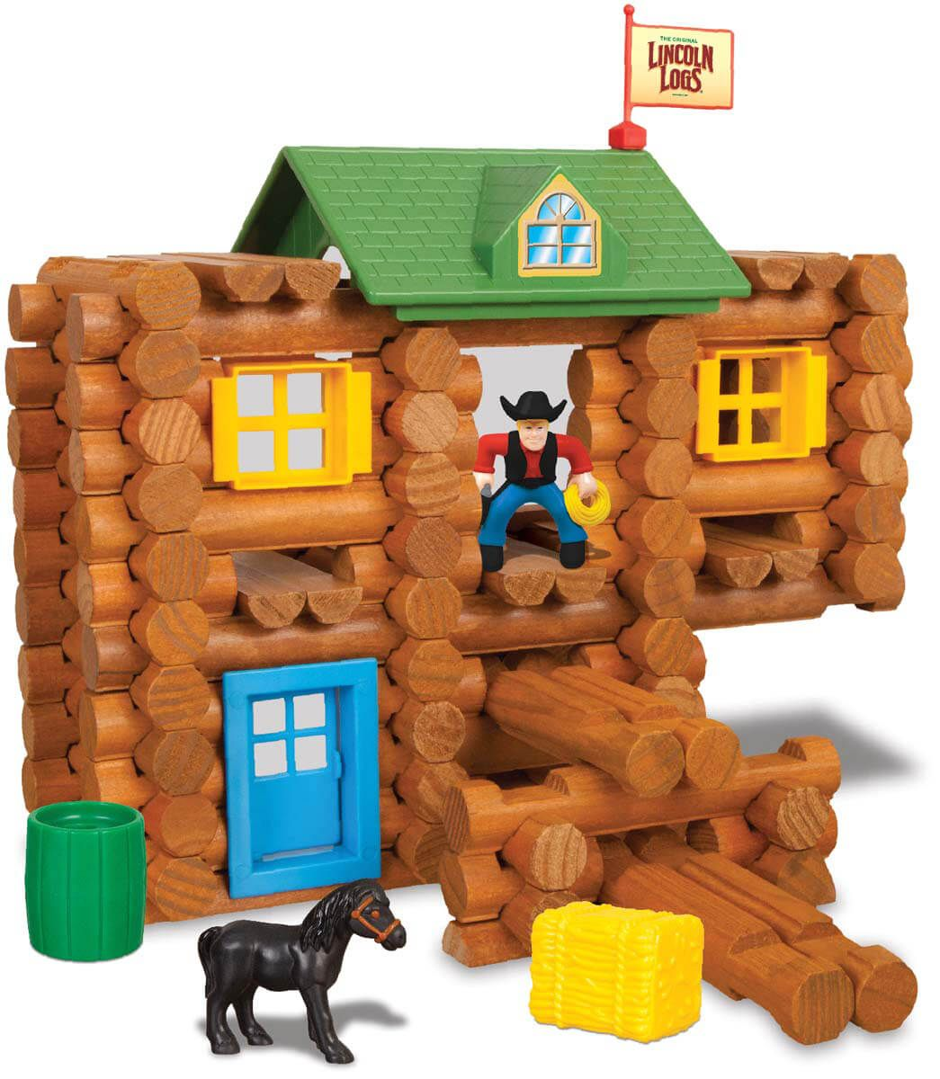 Redfield Ranch Lincoln Logs Toys Holiday Gift Guide