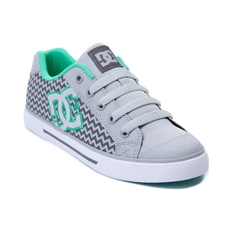 Shop for Womens DC Chelsea TX SE Skate Shoe in Gray Mint at Journeys Shoes.