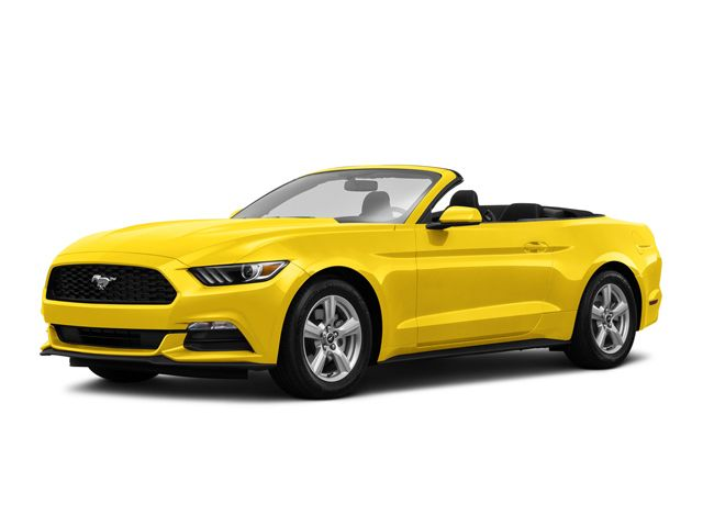 2017 Ford Mustang Convertible Triple Yellow Tri With Images