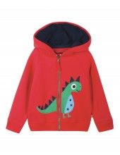 Dinotastic Frugi Bertie Hoody from Spring/Summer Collection 2015. Avialble from 0-3 months to Age 2-3 years
