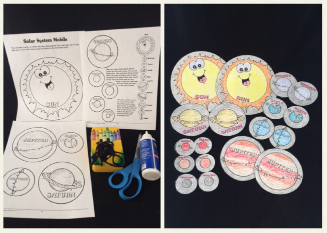 Have your class create the entire solar system with these ...