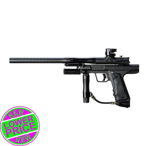 Empire Resurrection Autococker Paintball Gun Dust Black | Badlands Paintball Gear Canada