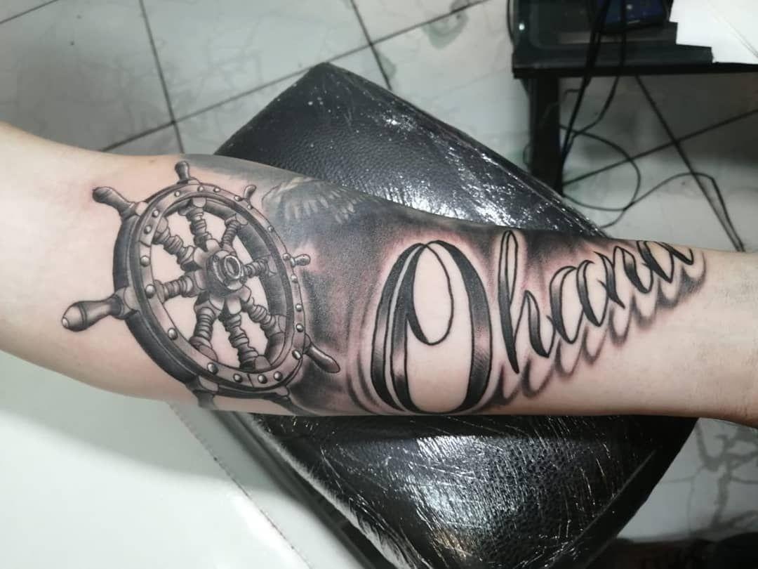 Otra sesión para mi gran amigo @ivanromerja #tattoo #tatuaje #blackandgrey #blac...