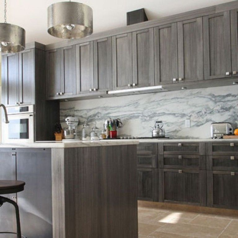 40 INSPIRING GREY WASH KITCHEN CABINETS IDEAS - Page 25 of ...
