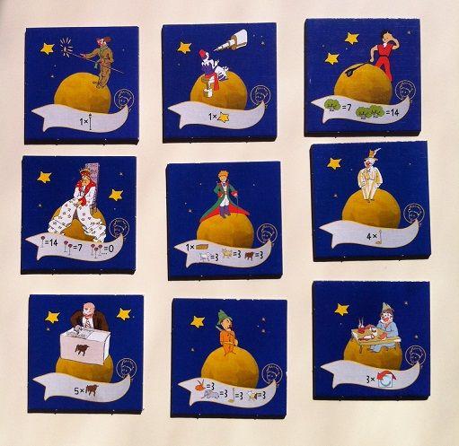 Assez Le petit prince - tuiles   Le petit prince   Pinterest   Le petit  XJ77