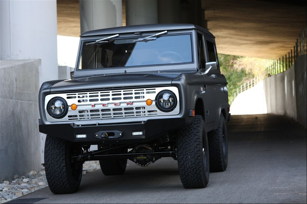 ICON4x4Design's 1968 Ford Bronco Ford bronco, Ford, Old