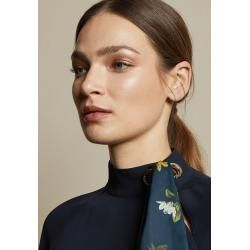 Photo of Stand-up collar and scarf detail Ted BakerTed Baker