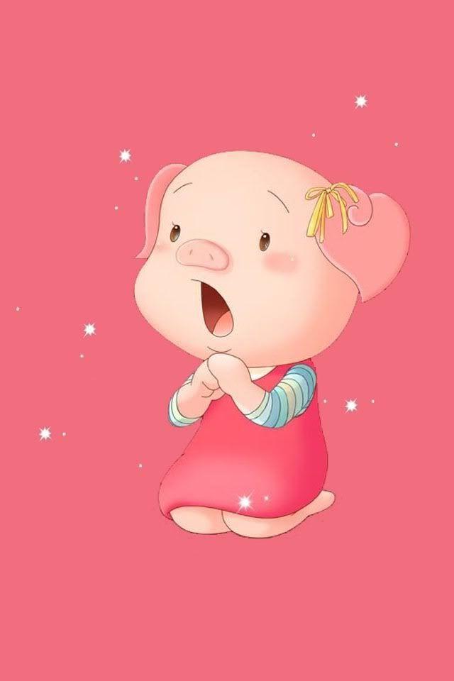 Pin by Olivia Burch on Pink Pig illustration, Kawaii pig