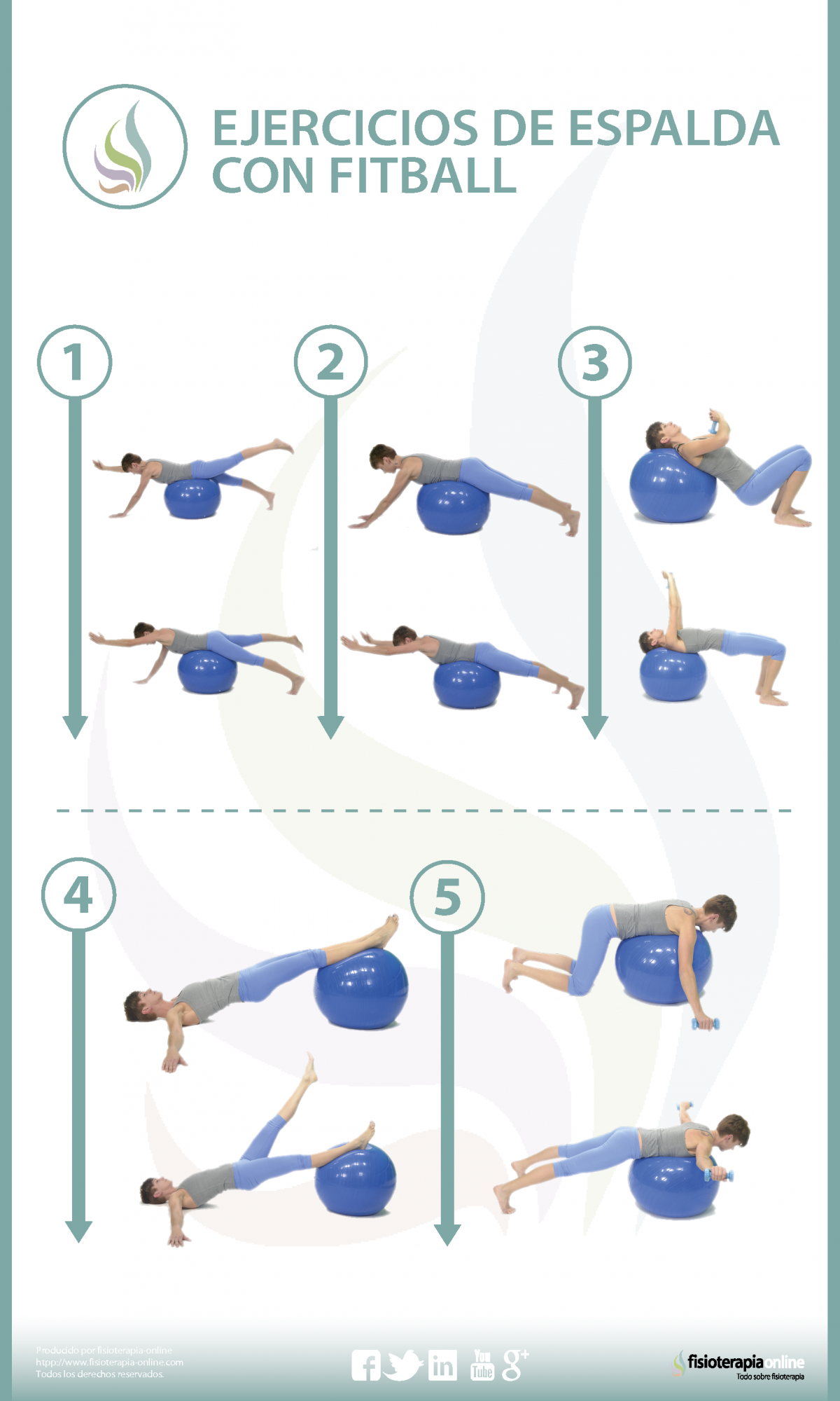 5 ejercicios para tonificar tu espalda con fitball  dfb6d5fcbf0e
