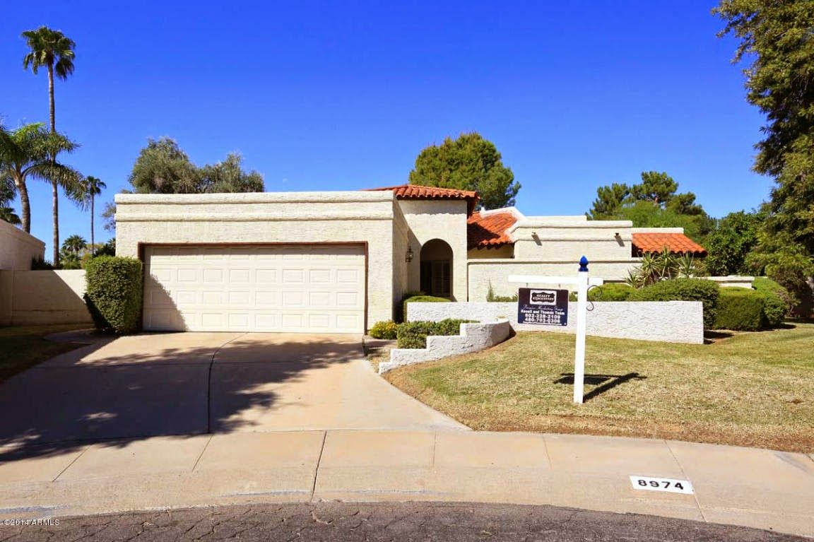 Highly coveted McCormick Ranch patio home on one of the largest lots (13,000+)…