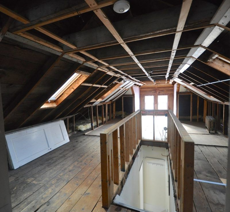 Bungalow Remodel Creating A Second Floor From Unfinished Attic