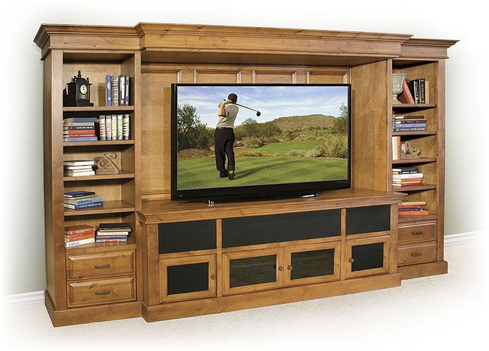 Entertainment Cabinet With Wainscotting Entertainment Cabinet