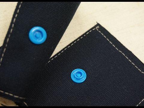 清秀佳人布坊 - 手作教學 -  手壓塑膠四合扣的方法