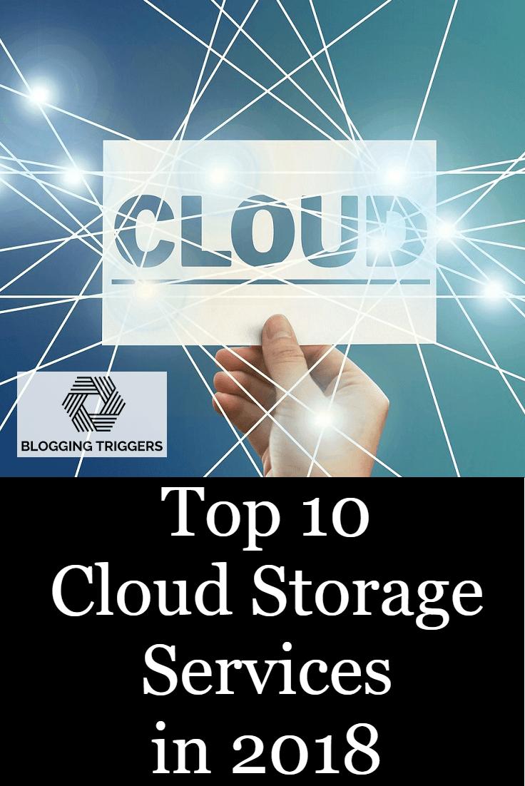 Top 10 Best Cloud Storage Providers For 2019 Blog Love Social Media Social Media Tips