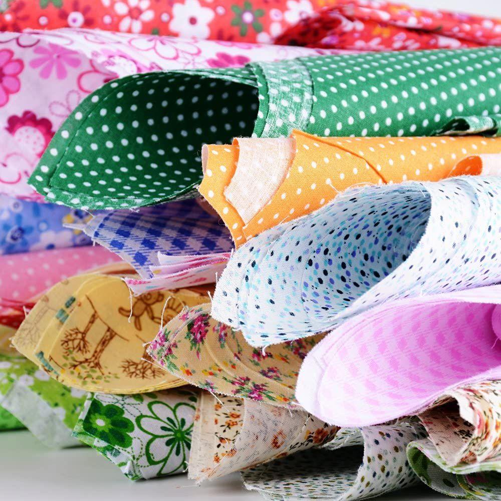 Stoffpakete Baumwollstoffe Patchwork Stoffreste Weihnachten Basteln Stoffe DIY