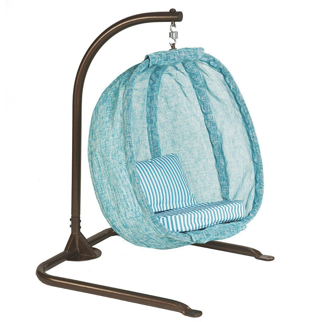 Kids Hanging Egg Chair with Stand FlowerHouse Hanging