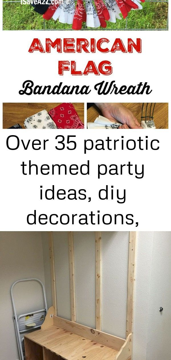 Over 35 patriotic themed party ideas, diy decorations, crafts, fun foods and recipes 9 #labordayfoodideas