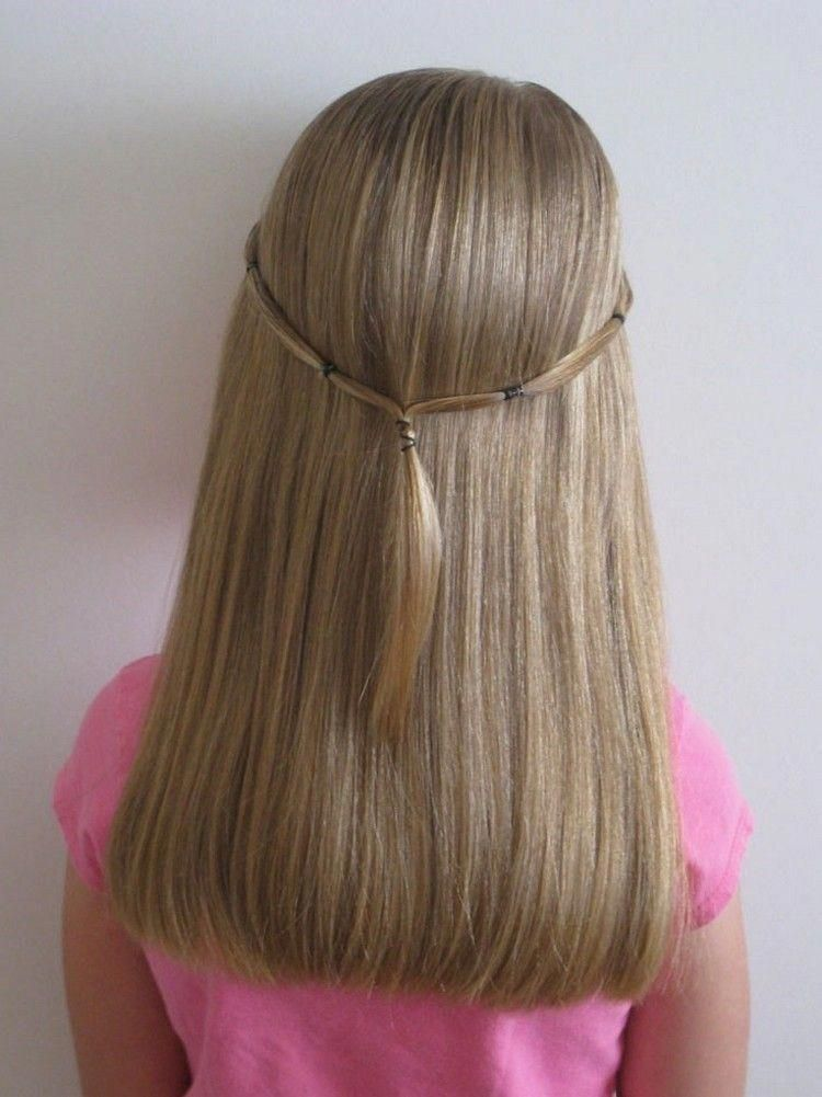 Simple easy hairstyle #easyhairstylesforschool | Easy hair dos, Easy hairstyles, Hair styles