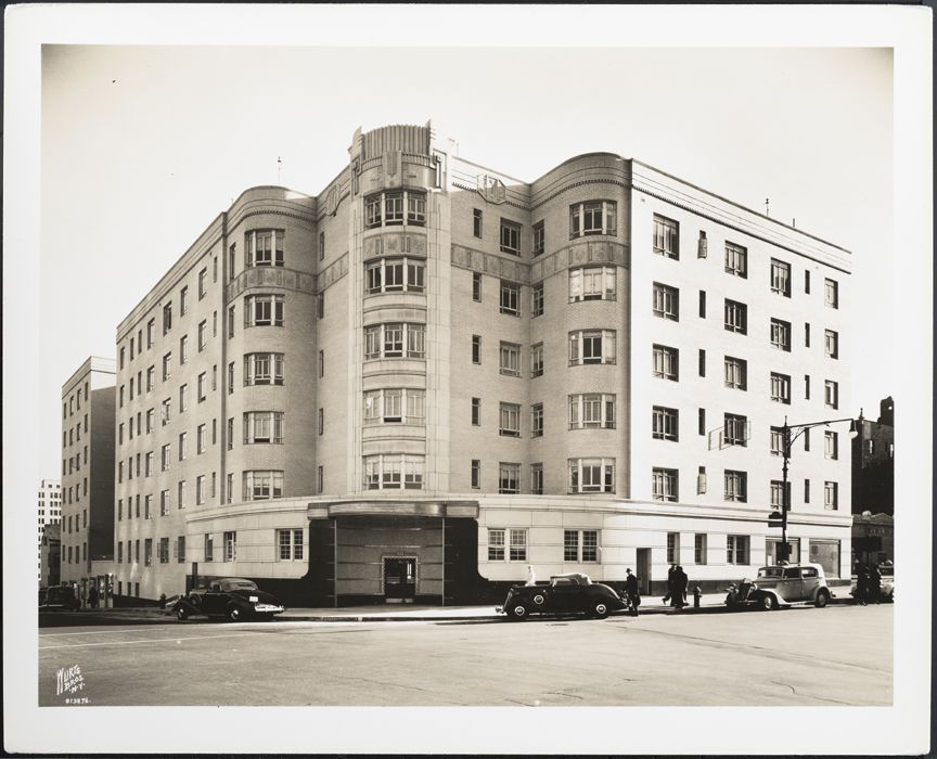 Apartment building 888 Grand Concourse The Bronx Designed by