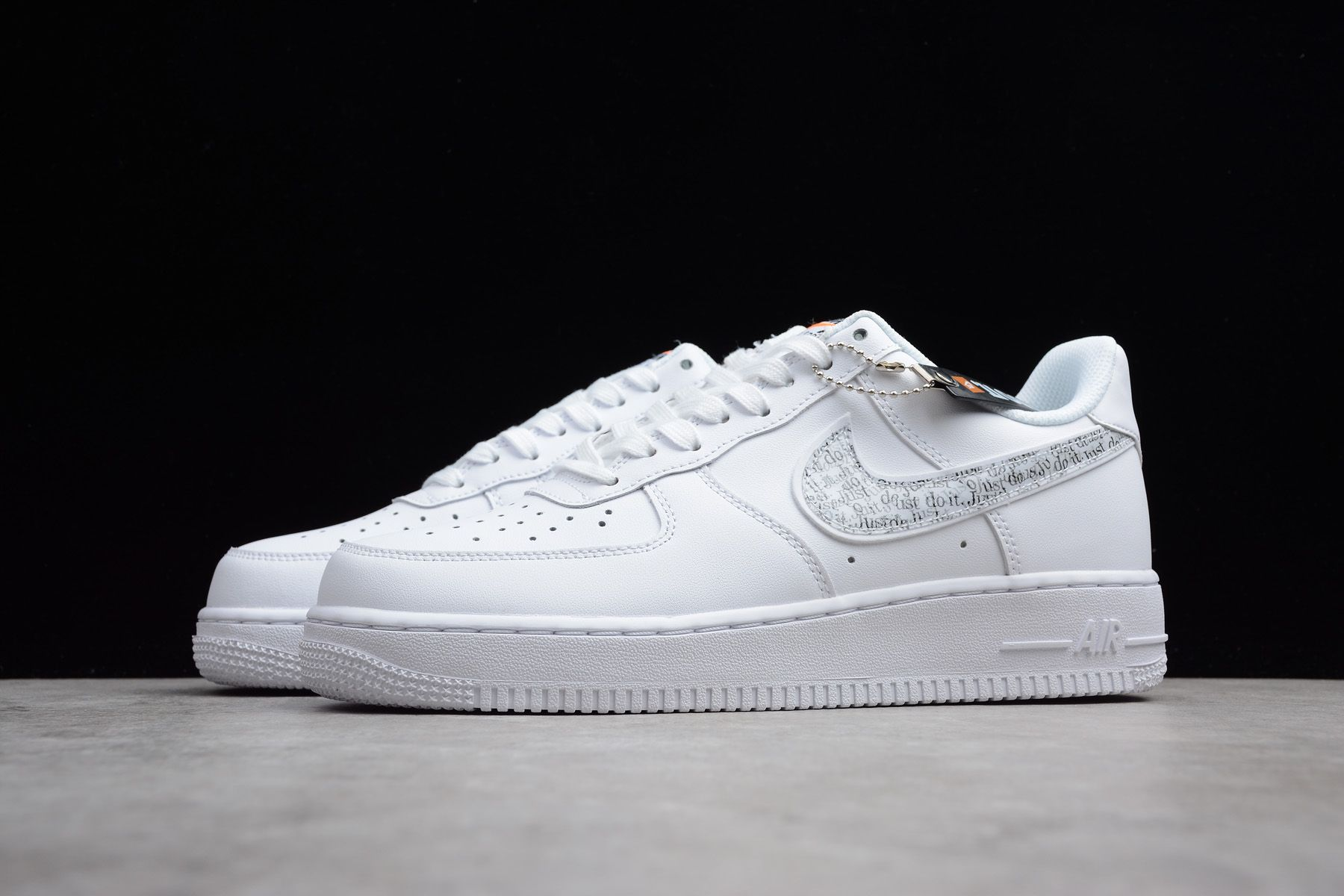 Manner Nike Air Force 1 LV8 White Just Do it BQ5361 100