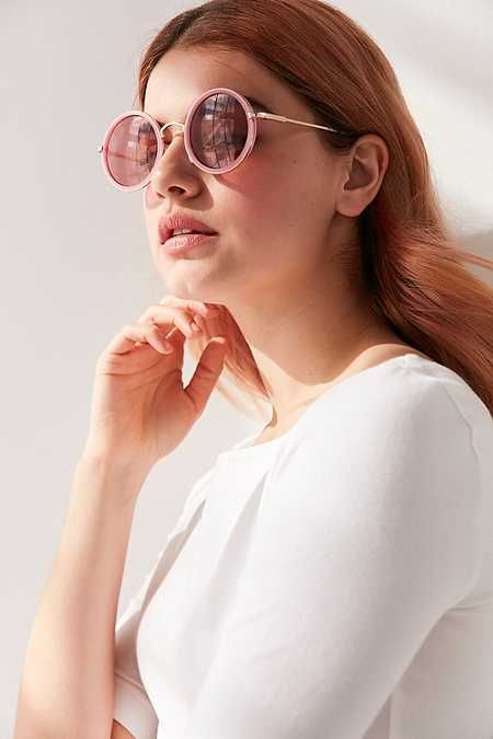 48e6d08f4d5 Sunshine Perfect Round Sunglasses