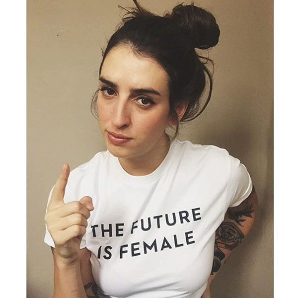 4fb563da Trend Alert: We Should All Be Wearing Feminist T-Shirts ...
