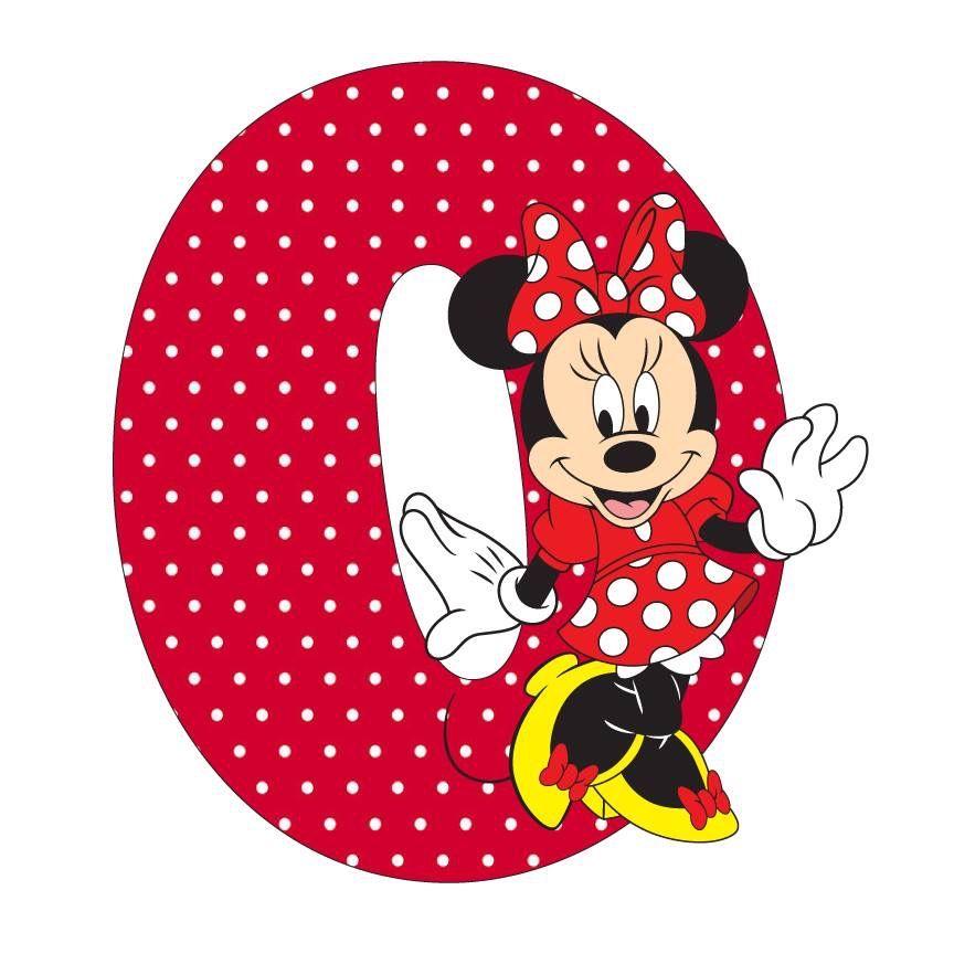 Letter O Minnie Mouse | imágenes digitales | Pinterest | Basteln