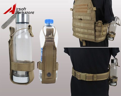 Kettle Pouch Bag Carrier Outdoor Tactical Military Water Bottle Holder Xmas Gift