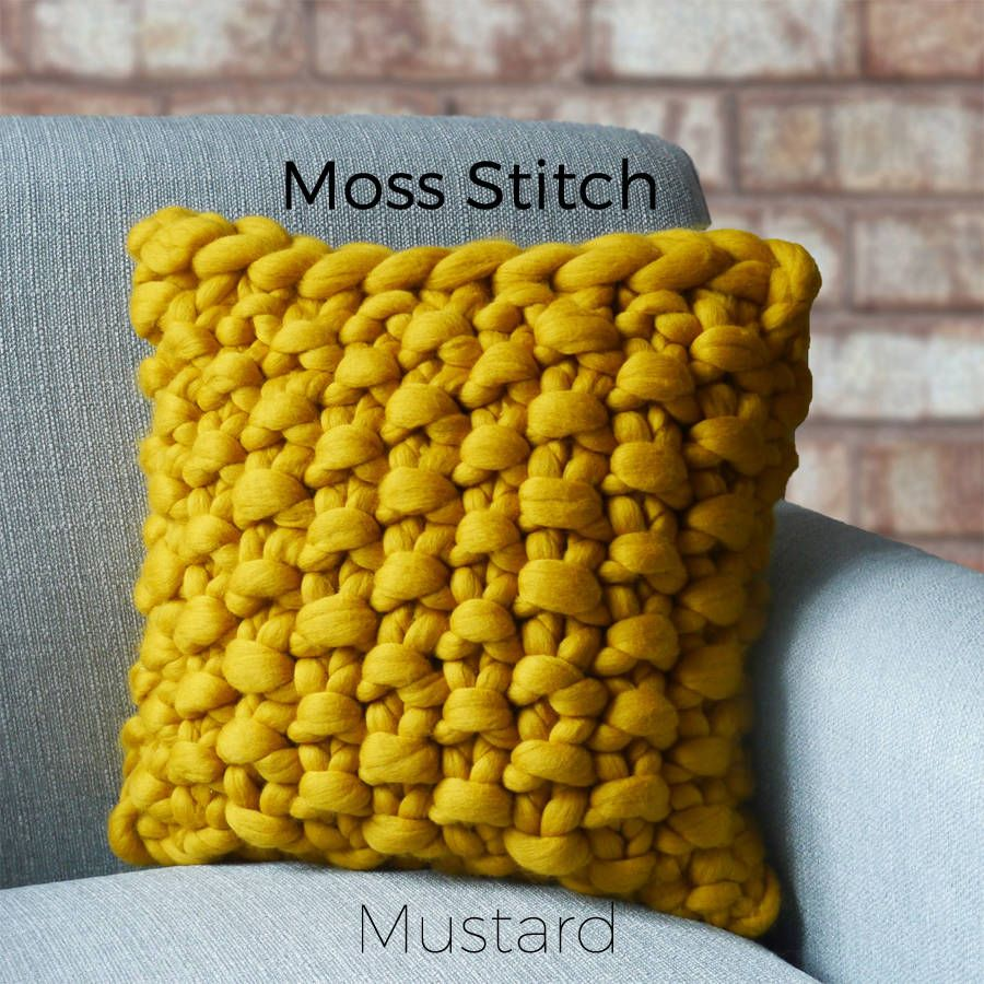 Image result for knitting cushion cover patterns free with super ...