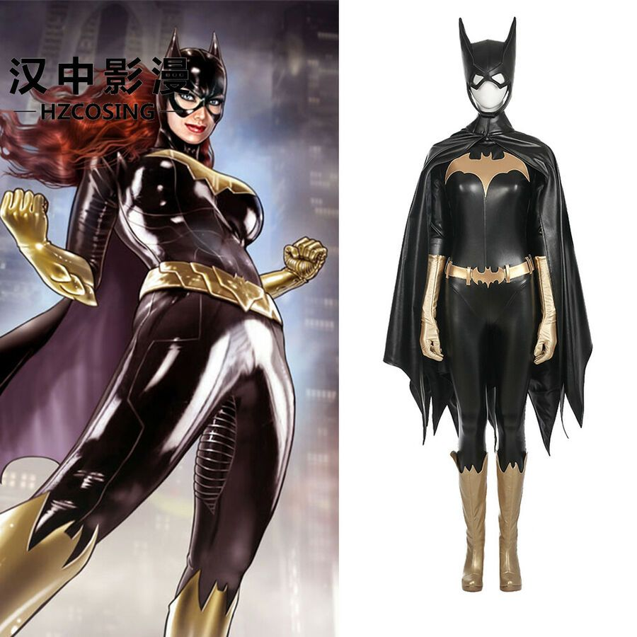 DFYM Batman Arkham City Cosplay Harley Quinn Costume Leather Outfit Halloween