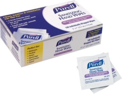 Purell Hand Sanitizing Wipes 100 Wipes Box 9022 10 Hand