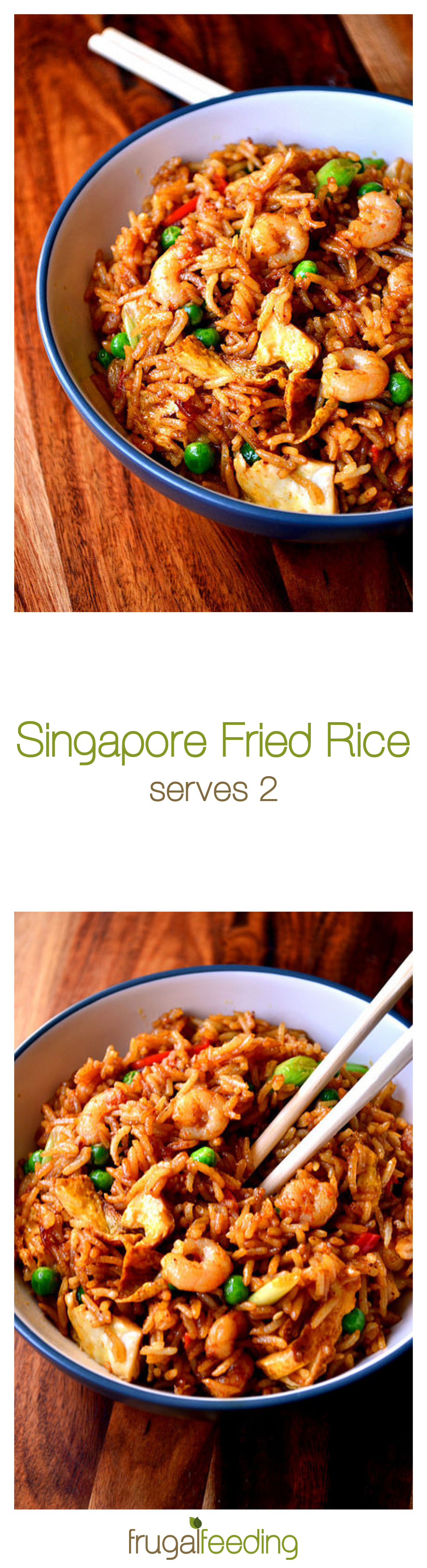 Singapore Fried Rice  A Chinese Takeaway Classic, Brought To Life At Home  Ready