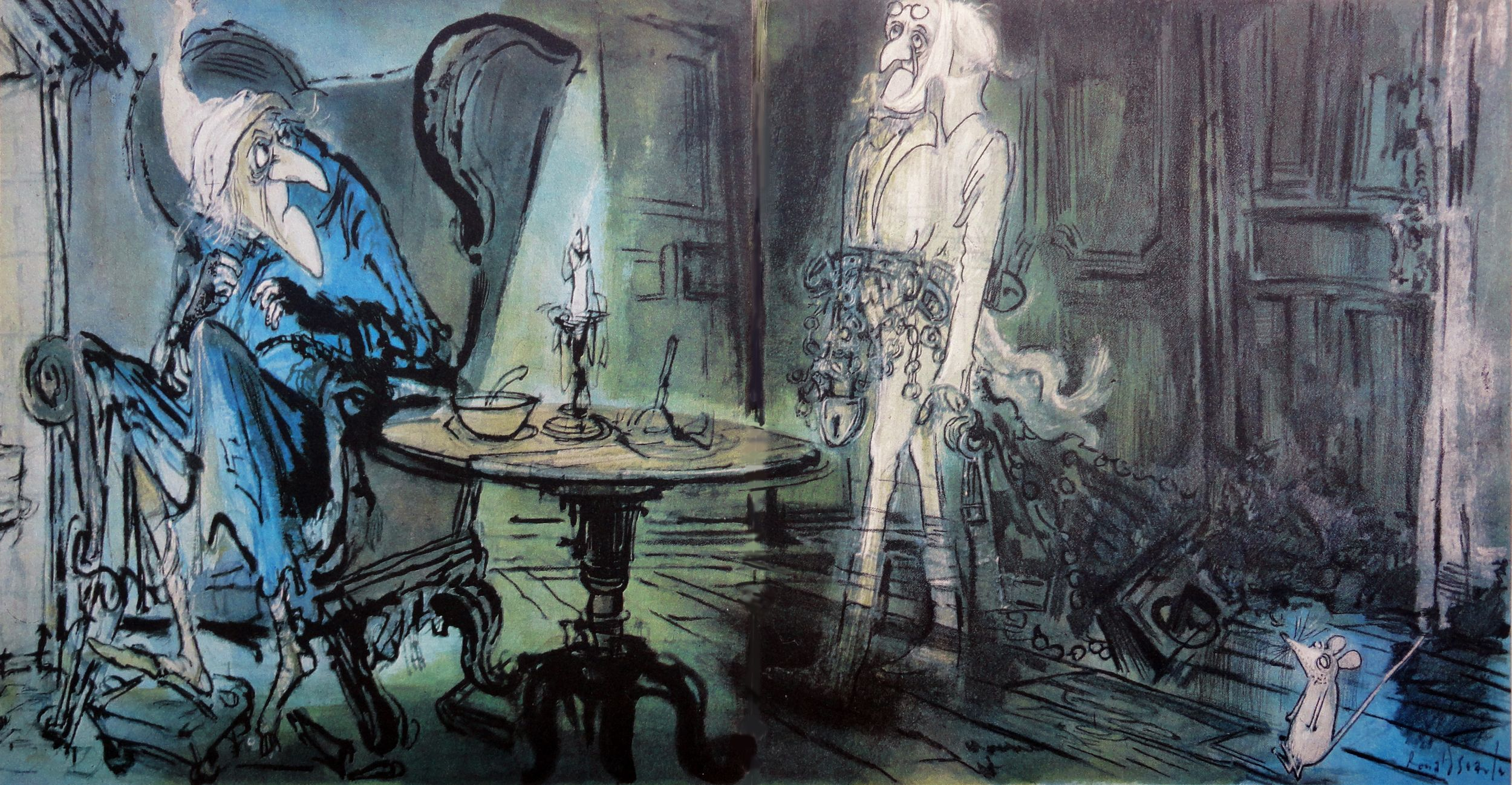 images of scrooge by ronald searle | ronald searle's christmas carol | One1more2time3's Weblog