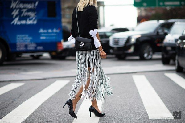 New York Fashion Week Street Style, Day 4