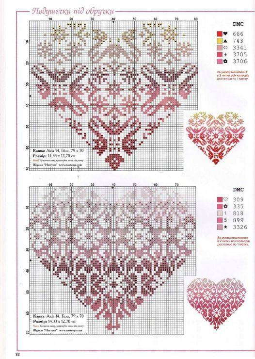 Colorwork Knitting Heart Knitting Patterns Free Crochet Graphs