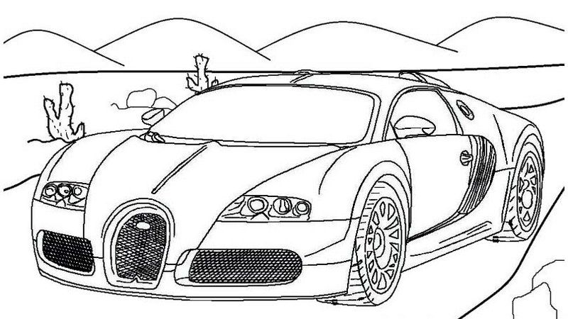 Amazing Bugatti Coloring Page Online In 2020 Race Car Coloring Pages Super Sport Cars Bugatti Super Sport