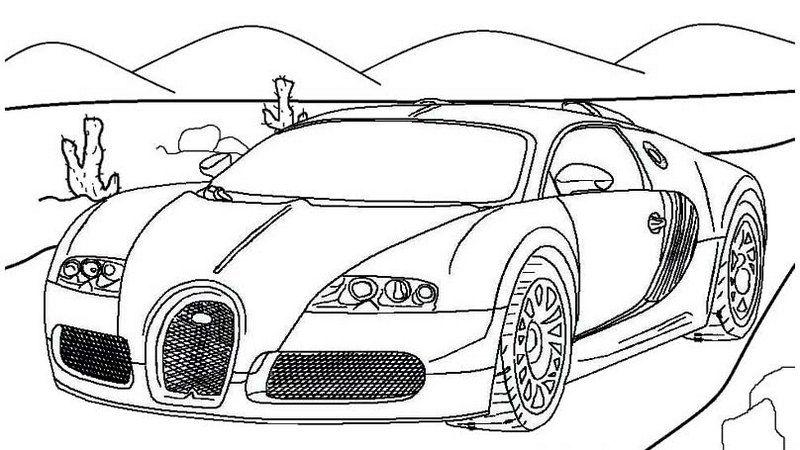 Best Bugatti Super Sports Car Coloring Page In 2020 Super Sport