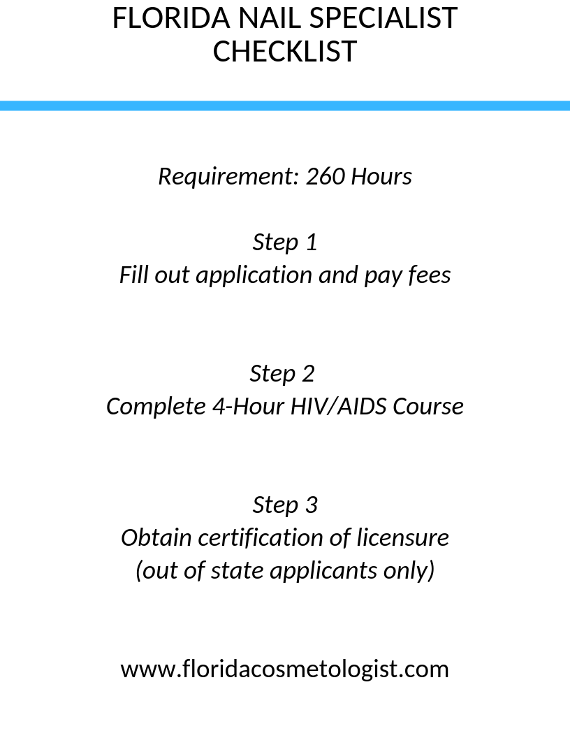 How To Get Your Florida Cosmetology License Cosmetology