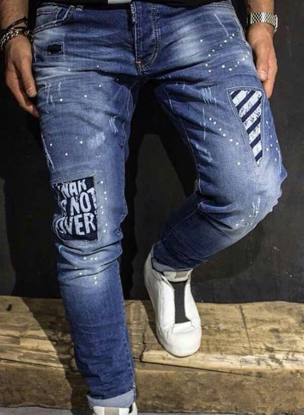 Muestras Pantalones De Hombre Moda Jeans Para Hombre Pantalones De Hombre