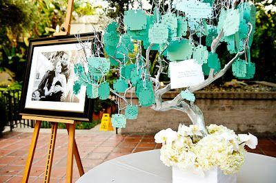 Realizando um Sonho   Blog de casamento e lar doce lar: Árvores de Recados...