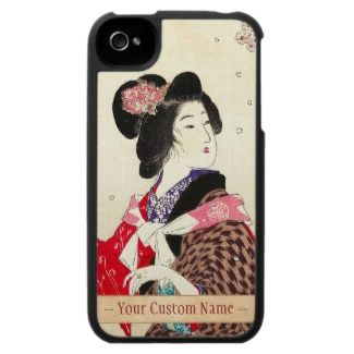 Suzuki Kason Sakura japanese woman lady art iPhone 4 Covers