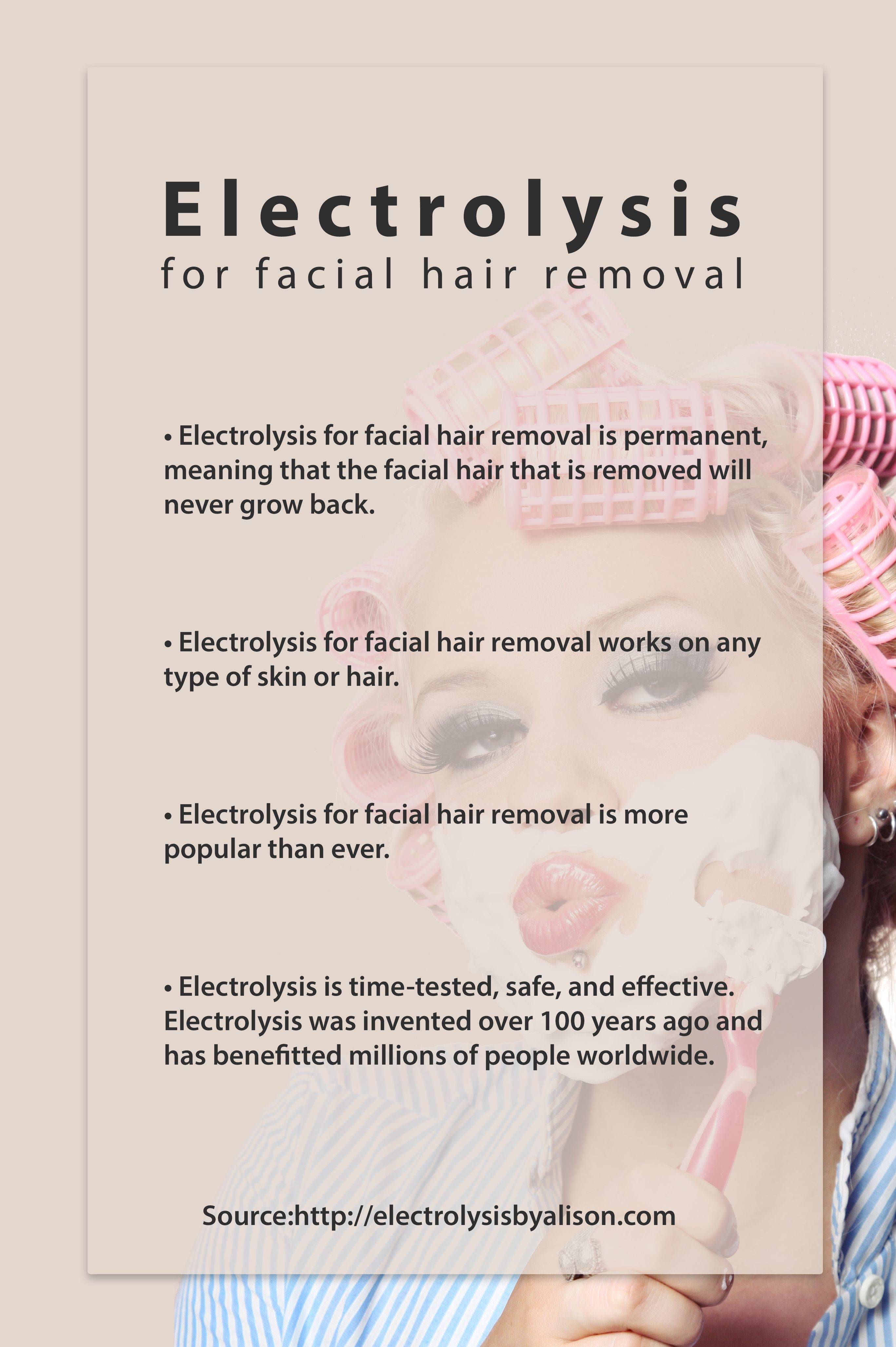 Pin On Electrolysis For Facial Hair Removal