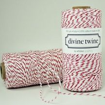 Wrap it up with baker's twine in many colors via feltandwireshop.com