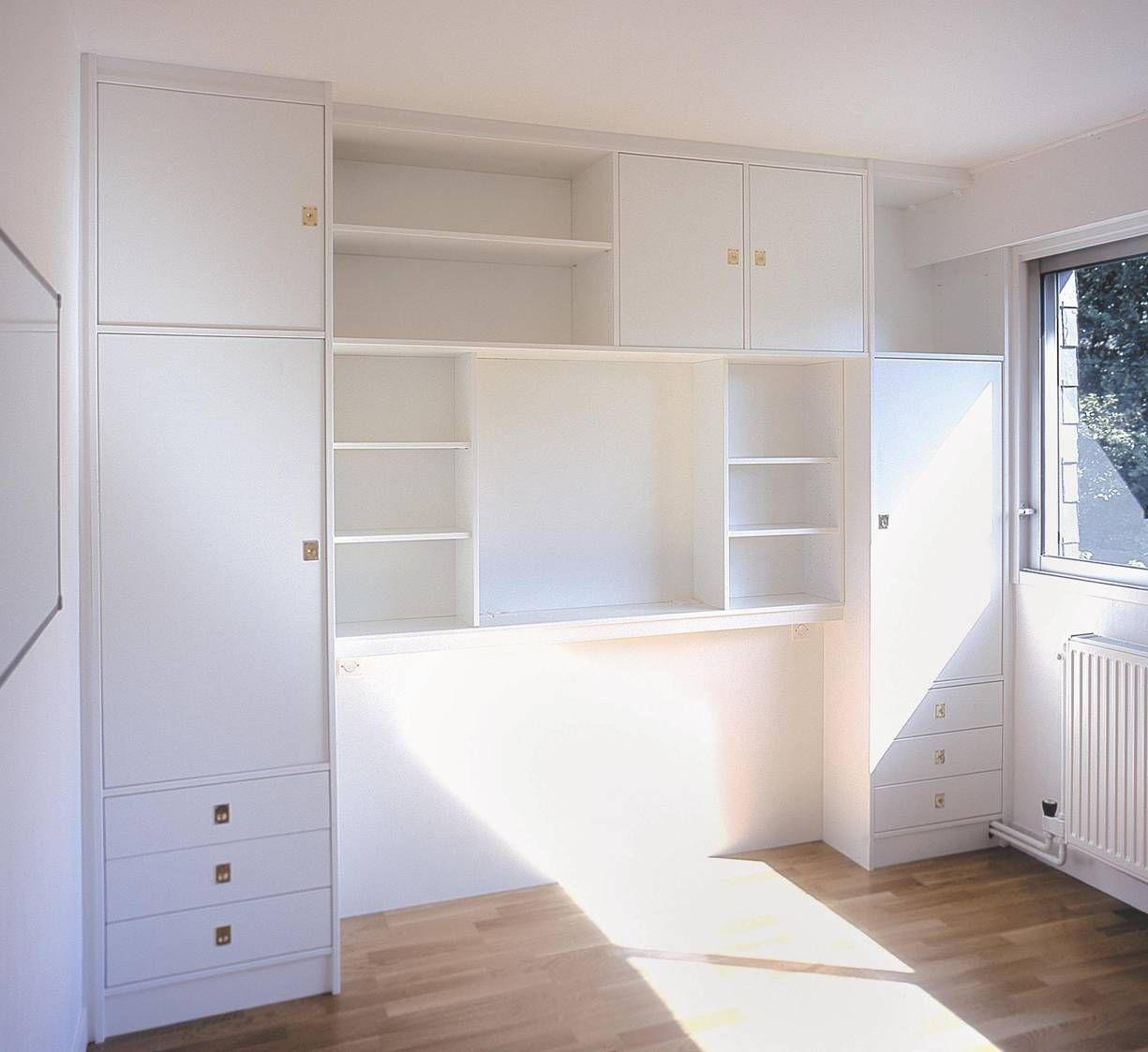 Chambre Sur Mesure Paris Nantes Vannes Lorient La Compagnie Des Ateliers Rangement Pour Petite Chambre Amenagement Chambre Tete De Lit Avec Rangement
