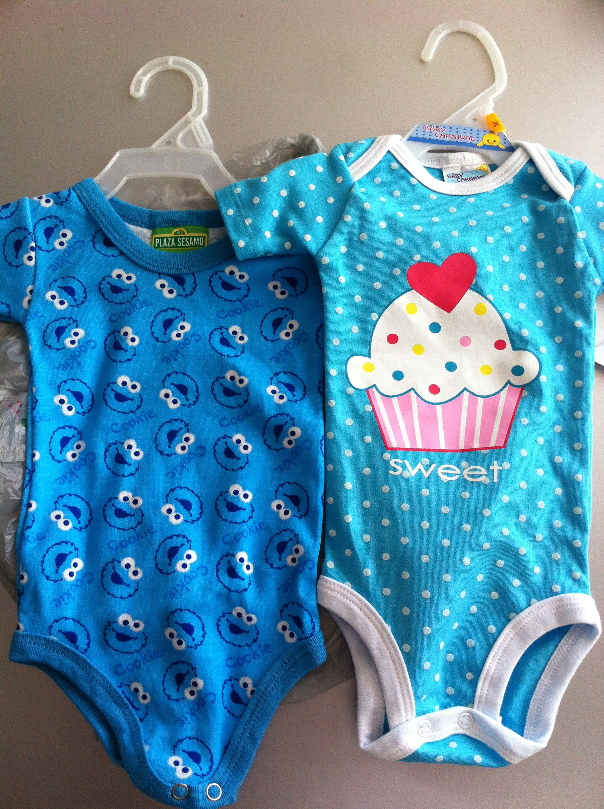 Sweet baby clothes Awh if you had twins boy and girl have a