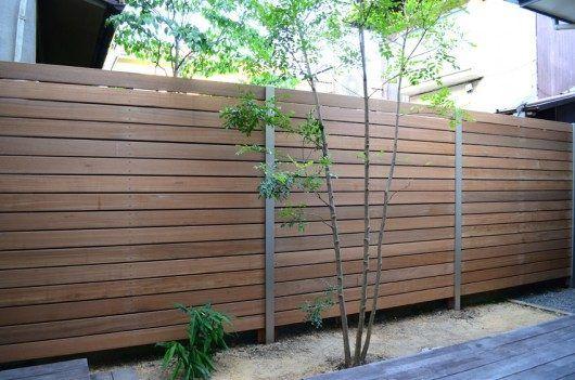 ウッドフェンスを取り付ける施工費用 価格の相場は フェンス