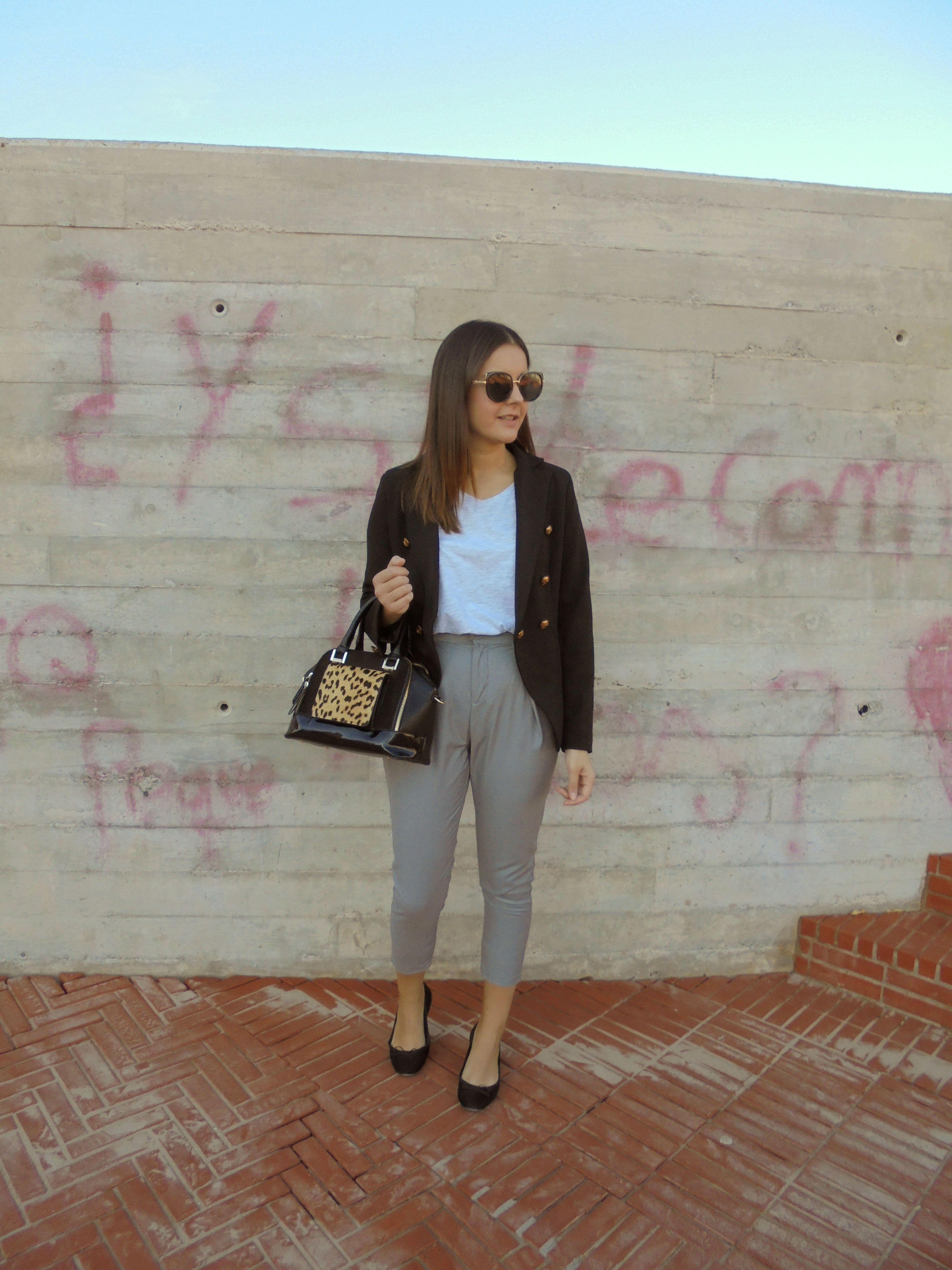 GREY PANTS - Temporada: Primavera-Verano - Descripción: http://zaracabanyes.blogspot.com.es/2017/10/grey-pants-by-zaful-look-321.html #FashionOlé