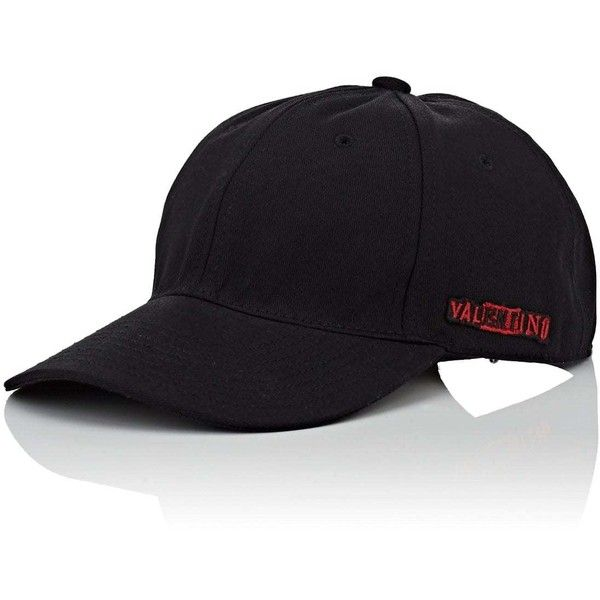 Valentino Garavani Men s Logo-Patch Cotton Baseball Cap (2.080 DKK) ❤ liked  on f5e89380a47