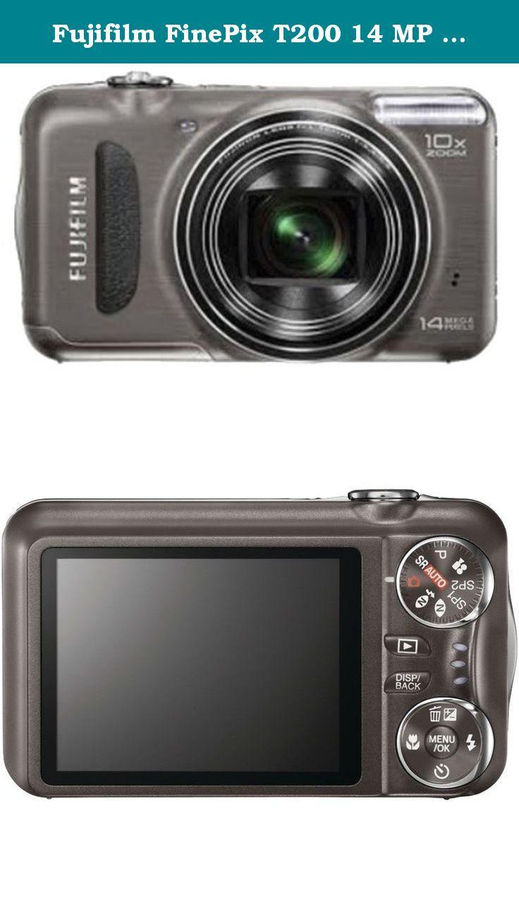 Fujifilm FinePix T200 14 MP Digital Camera with 10x Optical Zoom  (Gunmetal). The